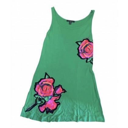 Louis Vuitton floral print green mini dress size FR34