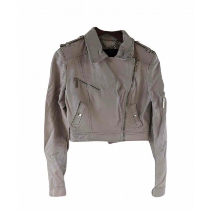 Elisabetta Franchi short leather jacket size IT44