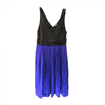 DKNY bi color block Dress