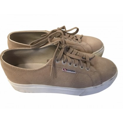 Superga suede trainers size 40