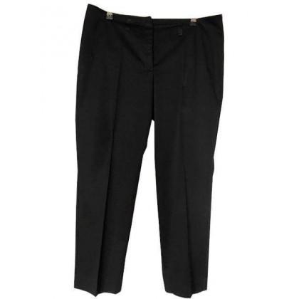 Marcain black cotton trousers