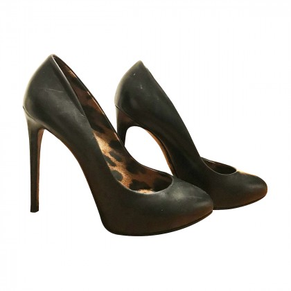 DOLCE GABBANA black heels