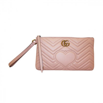 "GUCCI ""MARMONT"" clutch bag"