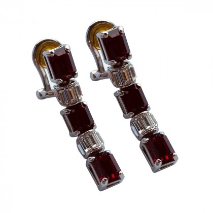 PRADA clip on earrings brand new