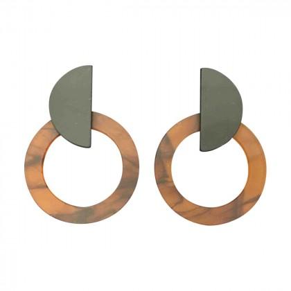 handmade large earrings for pierced ears