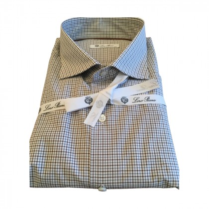 LORO PIANA plaid shirt