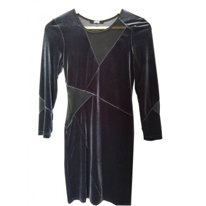 ASOS dress in grey velvet UK8 or INT S
