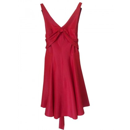 NICOLE MILLER NEW YORK RED DRESS US 10