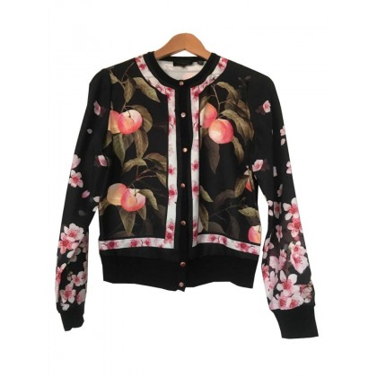 TED BAKER BOMBER STYLE JACKET SIZE 2 OR S-M