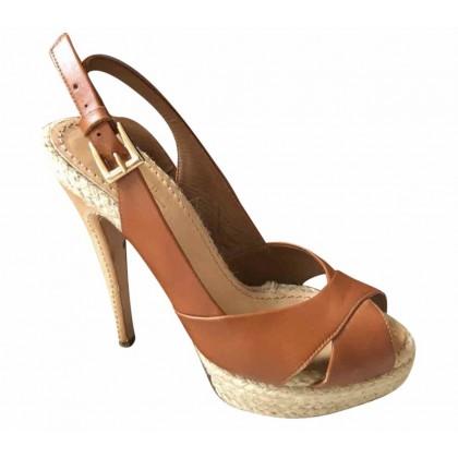 Sebastian heeled rope  platform sandals size 37