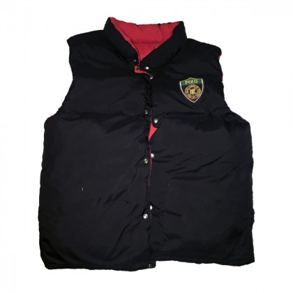 POLO RALPH LAUREN DOUBLE FACED POUFFER VEST FOR TEENS 16Y