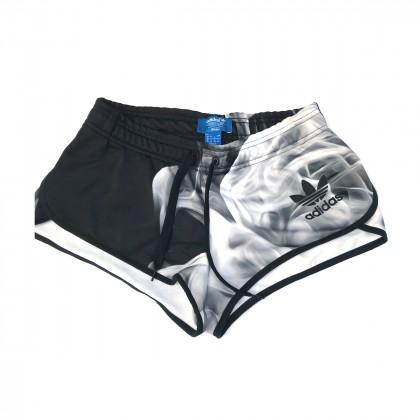 Adidas Black and White Shorts