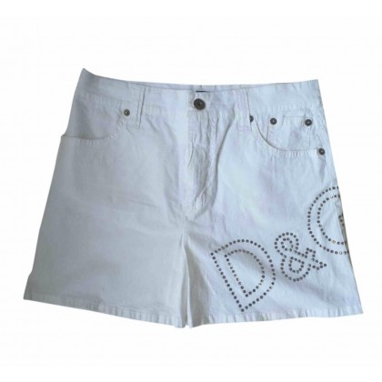 Dolce & Gabanna white mini skirt size IT40