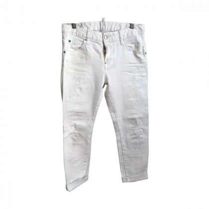 Dsquared2 White Jeans IT 36