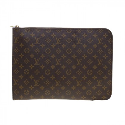LOUIS VUITTON Monogram Canvas Porte Document Holder