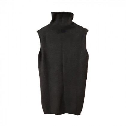 Hermes sleeveless turtleneck Cashmere and Alpaca size S