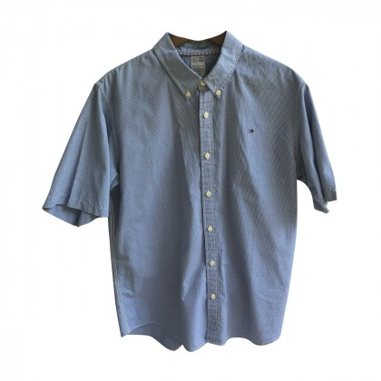 Hilfiger Denim Blue Shirt .