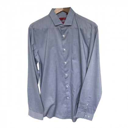Hugo Boss Grey Blue Shirt size L