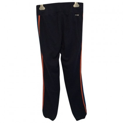 Adidas Blue with Coloured Stripes Trainer Trousers