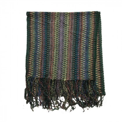 Missoni knitted multicolored scarf