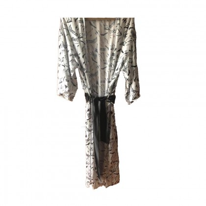 Libellula kimono style dress with belt one size