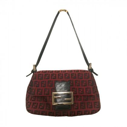 Fendi Burgundy Small handbag