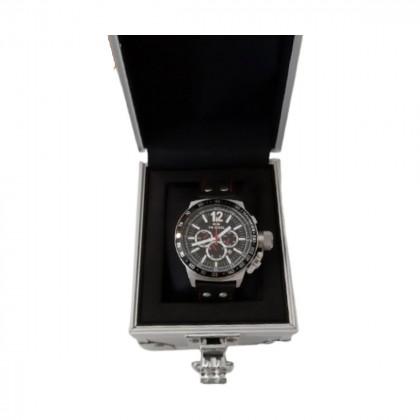 TW unisex steel quartz chronograph watch