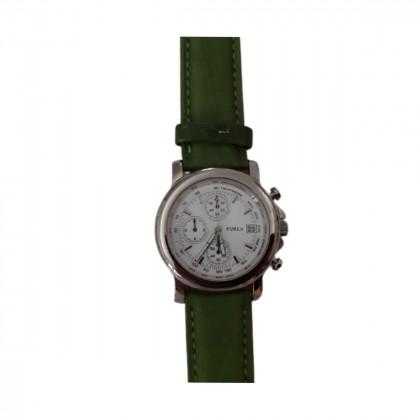 Furla Quartz water-resistant stainless steel chronograph watch