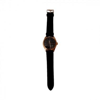 Βello et preciso gold plated steel watch