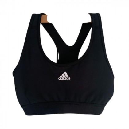 Adidas Black Bra size S brand new
