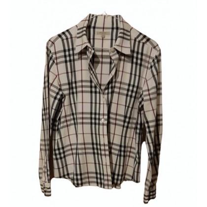 Burberry check pattern shirt size M
