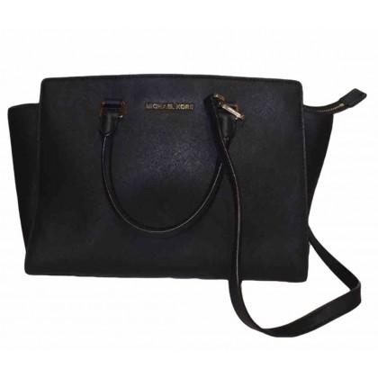 Michael by Michael Kors Selma black leather Tote bag