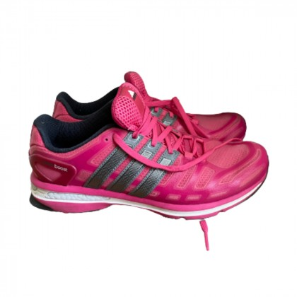 Adidas Pink trainers size US 8