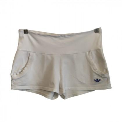 Adidas white shorts size 34