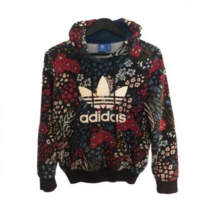 Adidas hooded logo sweater size 44
