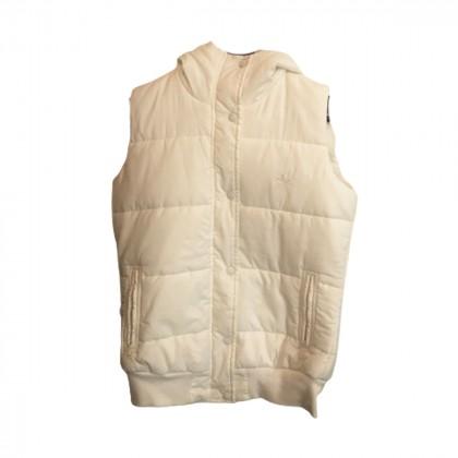 Adidas white Hooded Jacket sze IT 38