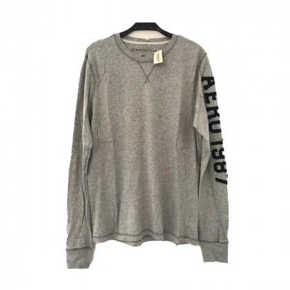 Aeropostale grey long sleeve top size M