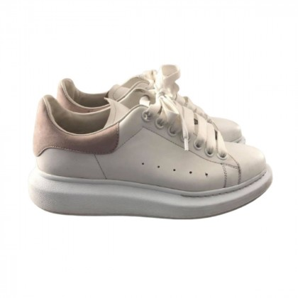 Alexander McQueen White And Beige Oversized Sneakers size IT39.5