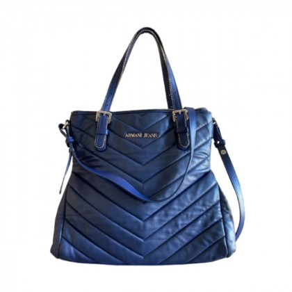 Armani Jeans blue crossbody/tote bag