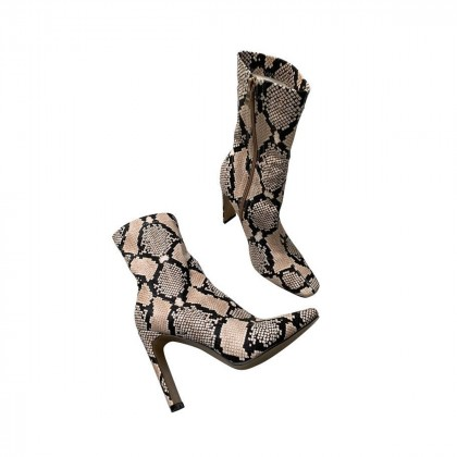 ASOS snakeprint ankle boots size IT38