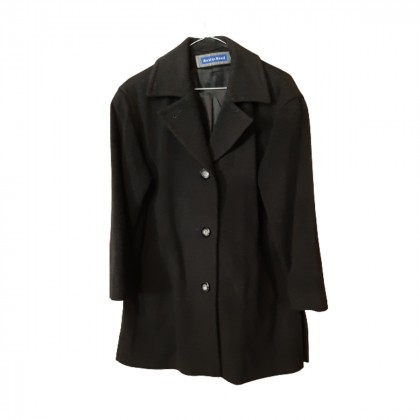 Austin Reed wool+cashmere blend coat size UK 8