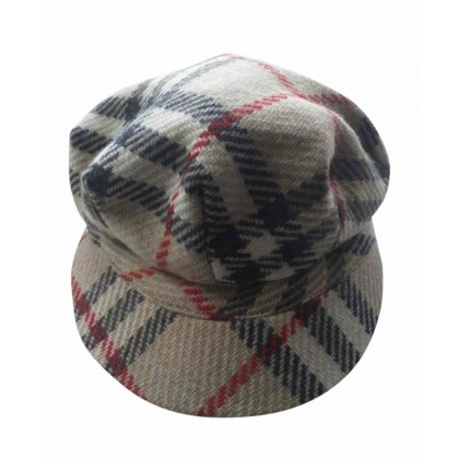 Burberry wool hat cap size S