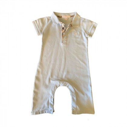 Burberry baby overall suit size 12M