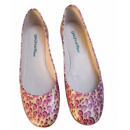 Louis Vuitton limited edition ballet flats size IT40