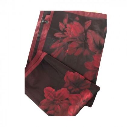 Basile silk floral silk pashmina shawl brand new