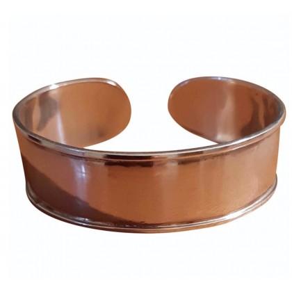 Handmade sterling silver cuff style bracelet