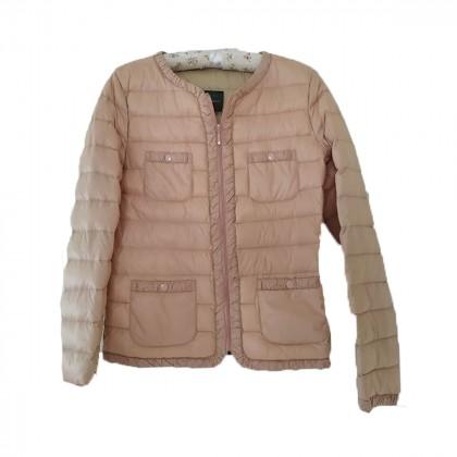 Benetton dusty pink down jacket size IT42