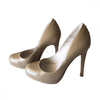 L.K Bennett nude pumps size IT 37.5