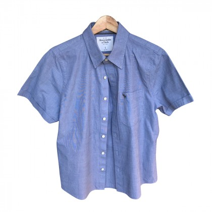 Abercrombie & Fitch Blue Shirt