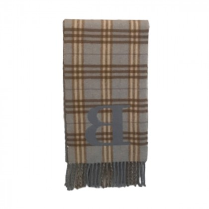Burberry Light Blue Kids Wool Scarf